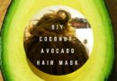 DIY Organic Coconut Avocado Hair Mask