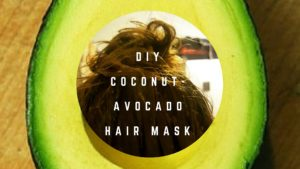DIY Coconut Avocado Hair Mask