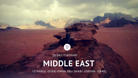 20 Day Middle East Itinerary