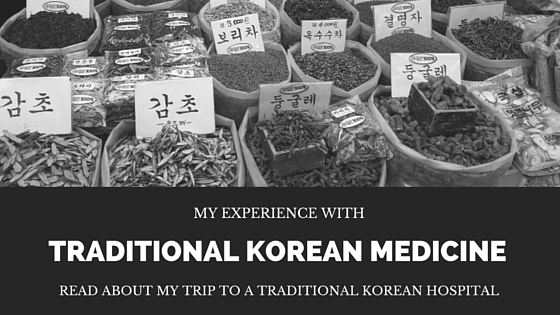 Traditional Korean Medicine