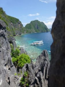 limestone cliff islands