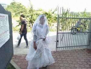 Man in Wedding Dress
